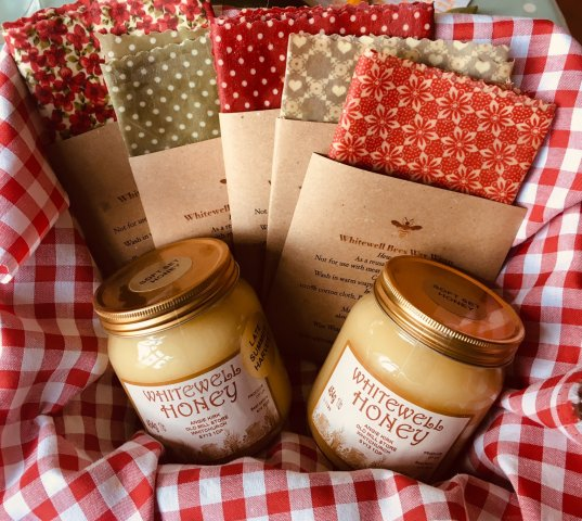 Wraps and honey hamper